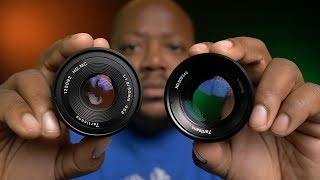 7artisans 50mm f1.8 & 55mm f1.4 Micro Four Thirds Lens Review