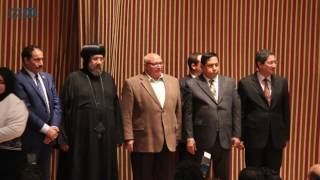 مصر العربية | تكريم أسر شهداء الوطن باحتفالية حق الشهيد بصيدلة عين شمس