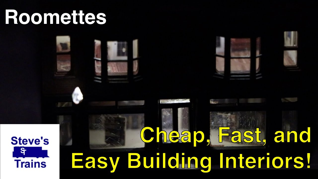 Roomettes: Cheap, Easy, and Fast Interiors for Your Structures