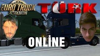 Euro Truck Simulator 2 Türkçe Multiplayer | Gece Yarısında Vukuat