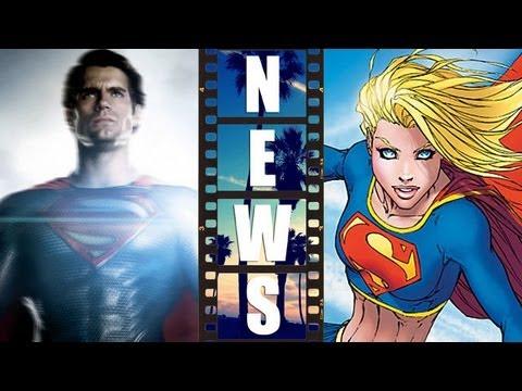 Superman Man Of Steel 2 Supergirl