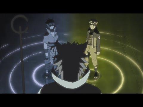 Naruto Y Sasuke Vs Madara   Hagoromo Le Da Su Poder A Naruto Y A Sasuke  Naruto Shippuden HD SUB