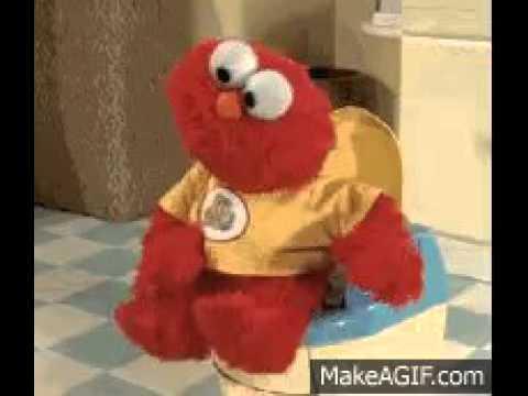 elmo potty training doll