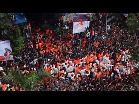 Mumbai Ganpati Aagman 2015 | Maharashtra | Ganesh Utsav | Aagman Sohla | Watch it in 2017