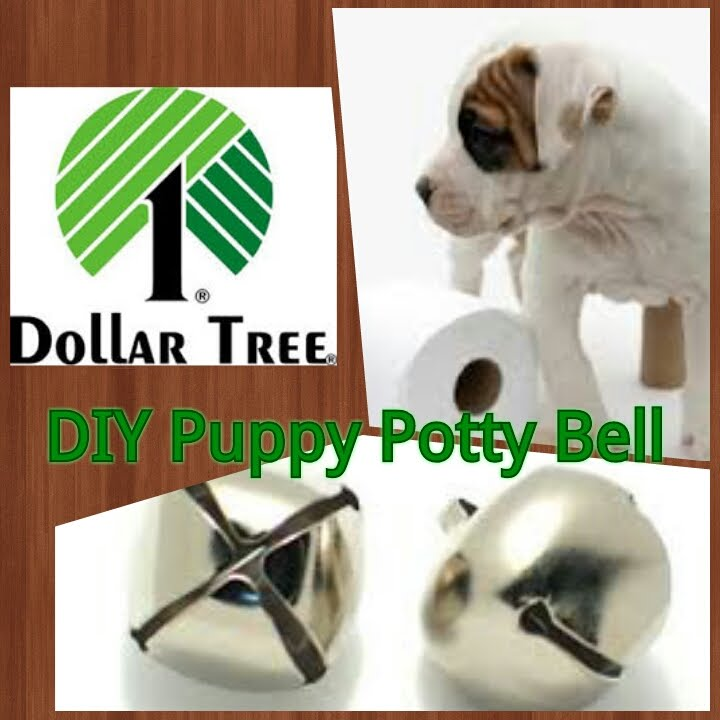 Dollar Tree Diy Puppy Potty Bell Potty Training Tool Youtube