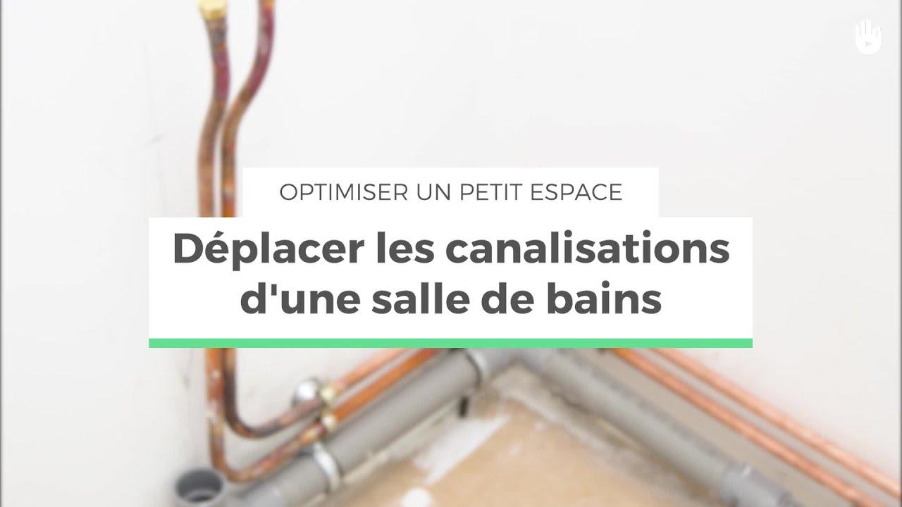 deplacer les canalisations d une salle de bains optimiser un petit espace
