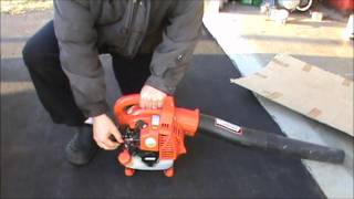 echo PB-250 Blower Review