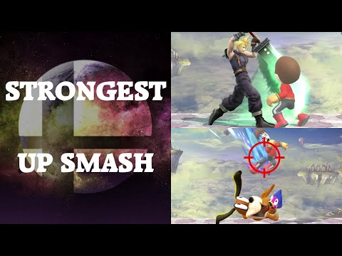 Super Smash Bros. 4 - Who has the strongest Up Smash?