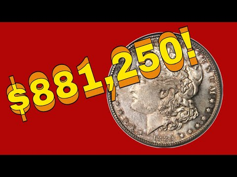Super Rare And Valuable Carson City Morgan Dollar Coins Worth Money! Silver Dollar To Look For!