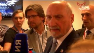 Macierewicz i rosyjska dziennikarka