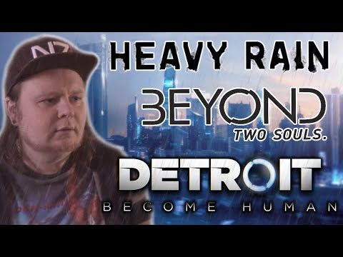 Обзор DETROIT X HEAVY RAIN X BEYOND: Two Souls - КЕЙДЖ ГЕНИЙ?
