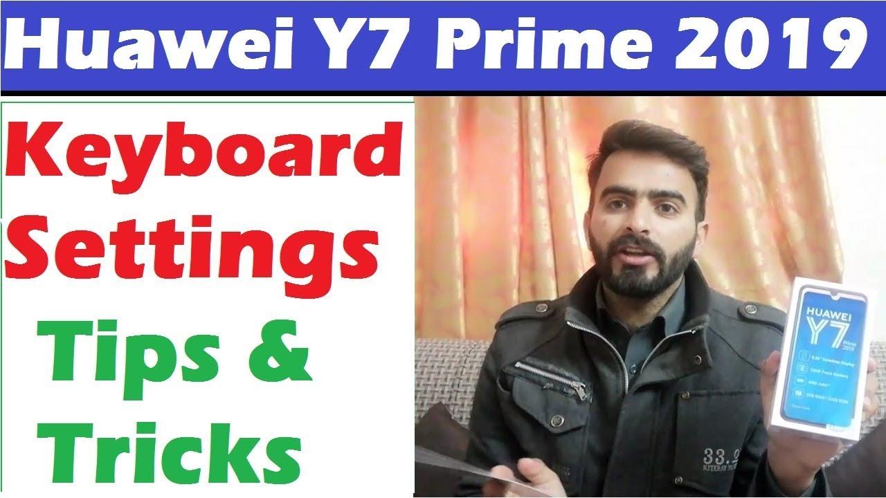 Huawei Y7 Prime 2019 Keypboard Settings Tips and Tricks - Y7 Prime Keypad  Vibrations Settings