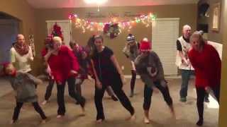 Family Goals - Family of Eight Kids Christmas Dance 2015 - Justin Bieber Song