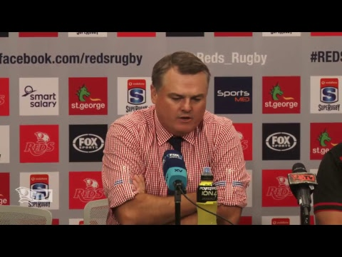 St.George Queensland Reds v Southern Kings - Post Match Press Conference