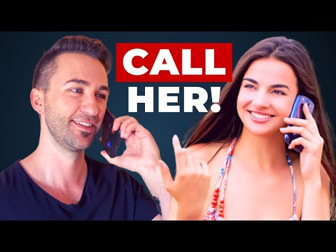How To CALL A GIRL (Do This Instead Of Texting Her..)