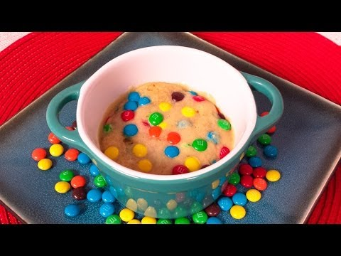 Rainbow Microwave Cookie:  No Bake Cookie in a Mug from Cookies Cupcakes and Cardio