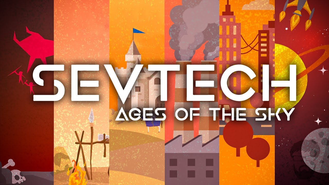 SevTech: Ages of the Sky Ep. 1 SevTech but Its a Skyblock - YouTube