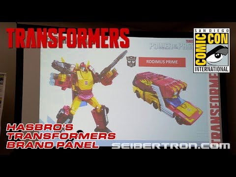 Hasbro's Transformers Brand Panel featuring Power of the Primes and the Last Knight