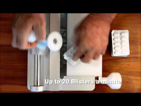 De-blistering machine