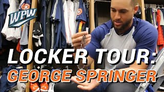 Locker Tour: George Springer