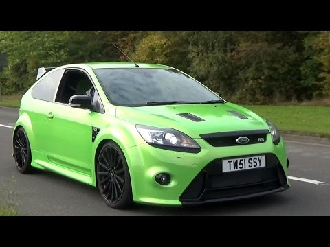 Ford Focus RS Tribute - PURE 5 Cylinder Engine Sound!