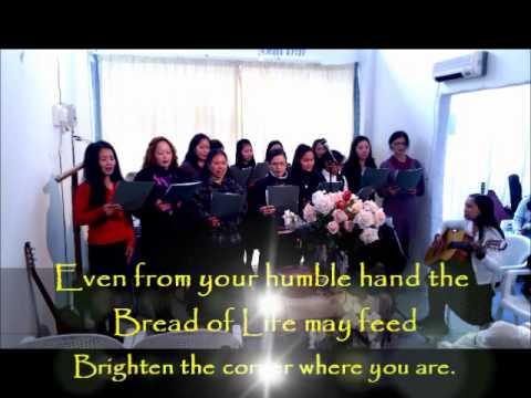 Brighten the Corner (with lyrics)- BBC Nicosia Choir