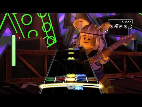 "Lego Rock Band- ""The Final Countdown"" Expert Guitar 100% FC (238,483)"