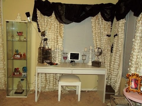 DIY  No Sew Curtains & CHEAP Hanging Hardware Options Muffinismylovers2012