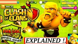 What is COC PRIVATE SERVER ?   Clash Of Clans Private Server - Explained [ Hindi ]