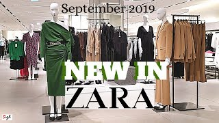 ZARA Fall Winter Collection 2019  Ladies Wear * Shoes * Bags