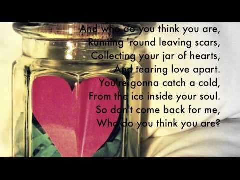Jar of Hearts - Christina Perri with Lyrics - YouTube