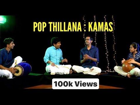 Pop Thillana - Khamas | Best of Indian Classical Fusion