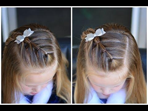 diagonal-arrow-ponytails-  -quick-preschool-hairstyles