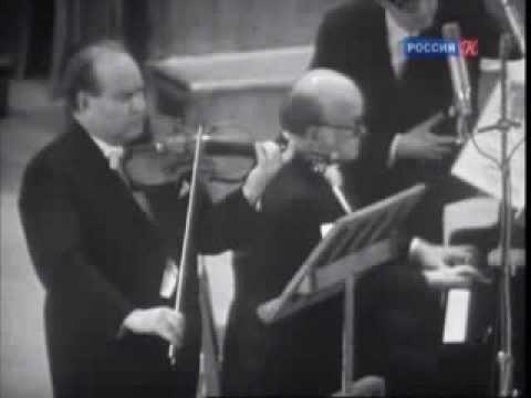 Beethoven. Sonata for Violin and Piano No. 1. Oistrakh - Richter