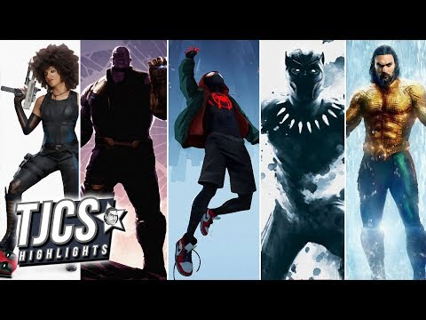 The Top 5 Best Comic-Book Movies Of 2018