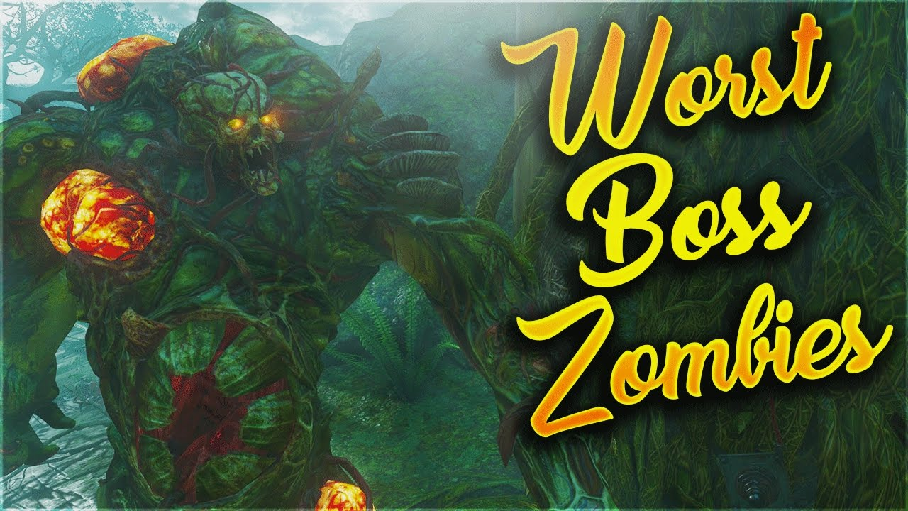 Top 10 Worst Boss Zombies In Call Of Duty Zombies Black Ops 1