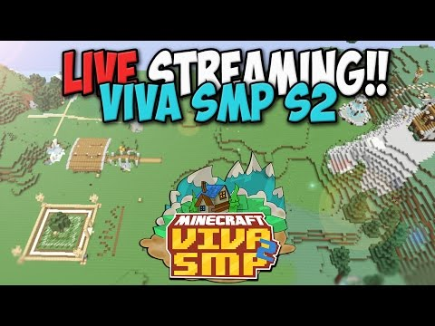 Live Mining!!  - Minecraft viva smp!!