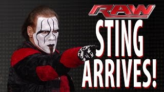 Sting makes a shocking Raw debut: Raw, January 19, 2015