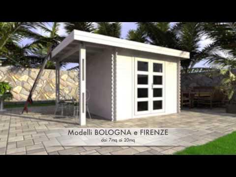 Casette in legno da giardino di design modelli bologna for Design di case caraibiche