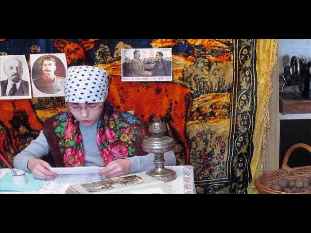 Изображение предпросмотра прочтения – АнастасияКалачигова читает отрывок изпроизведения «В круге первом» А.И.Солженицына