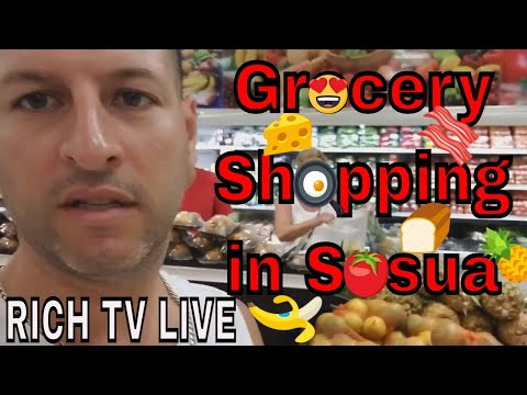 Shopping in Sosua, Puerto Plata, Dominican Republic - Playero Supermercado - RICH TV LIVE