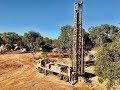 Drilling for Boulder Opal at Koroit