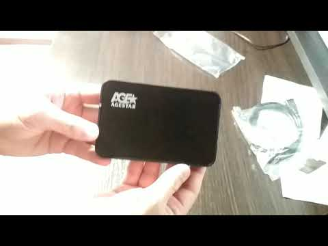 "Зовнішня кишеня Agestar для HDD 2.5"" USB3.0 (3UB 2A8-BK Black)"