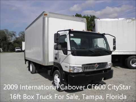 2009 international cf600 city star cabover 16 ft box truck for sale tampa fl youtube. Black Bedroom Furniture Sets. Home Design Ideas