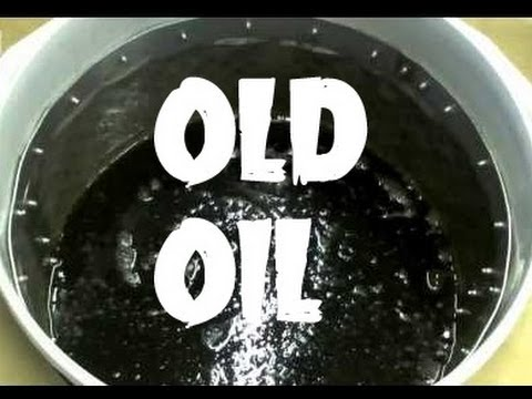 WHAT TO DO WITH USED OIL -