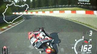 RZV500R a 320km/h em 500km PlayStation2 Tourist Trophy Nürburgring