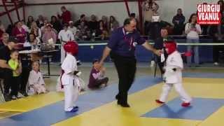 Darius Spiridon, karateka pe tatami la doar cinci ani