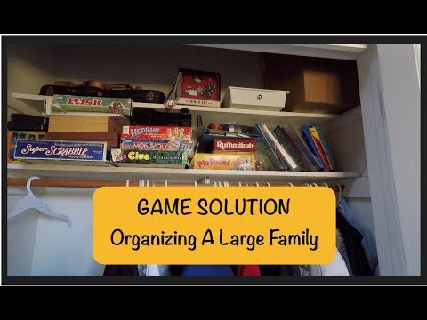 GAME SOLUTION - Organizing A Large Family