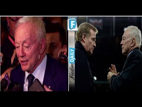 JERRY JONES JUST DELIVERED THE FINAL BLOW TO NFL COMMISSIONER AND PISSED OFF EVERY ANTI AMERICAN PLA