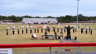 St Pete Green Devil Marching Band MPA 2014